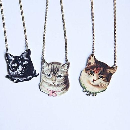 bijoux chat handmade montréal