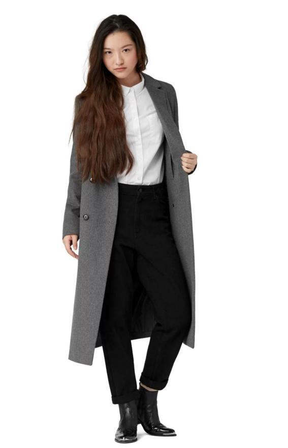 manteau laine feutre montreal