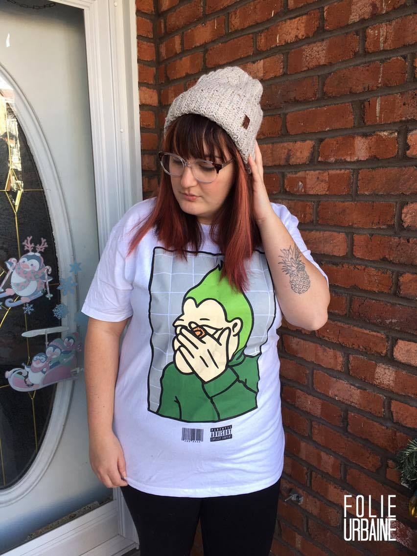 karine folie urbaine t-shirt carnet de style